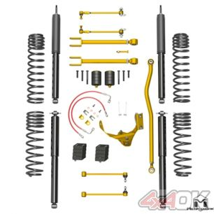 "JK Wrangler True Dual-Rate Lift Kit, 2.5""/3.5"", Long Travel ARB Edition"