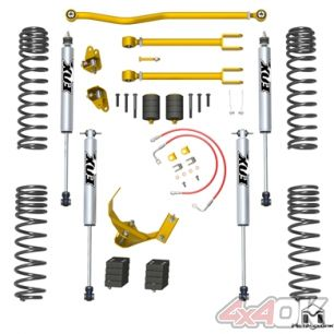 "JK Wrangler True Dual-Rate Lift Kit, 2.5""/3.5"", Fox Edition"