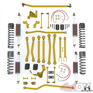 "JK Wrangler Game-Changer Suspension 4.5"", Hi-Steer, 6Pak Edition"