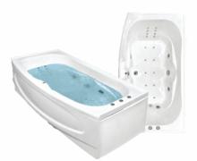 Гидромассажная акриловая ванна Bach Джени 190х110 см, G, Престиж