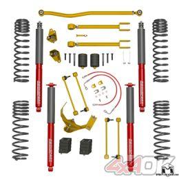 "JK Wrangler True Dual-Rate Lift Kit, 2.5""/3.5"", RockSport Edition"