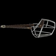 Намордник металлический №4 (немецкая овчарка, восточноевропейская овчарка)