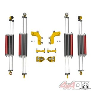 JK Wrangler 6Pak Shock Upgrade System