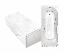 Акриловая ванна Bach Лаура 1600*700 с гидромассажем