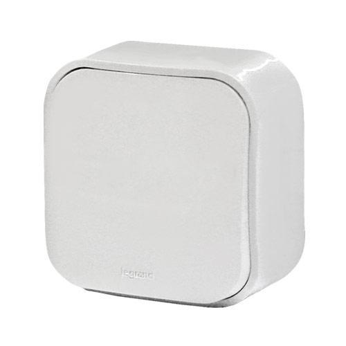Выключатель 10A 1кл. белый Quteo 782200