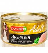 Porcelan 95% мяса Индейка для взрослых собак (325 г)