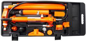 OHT918M Набор гидравлического инструмента для кузовного ремонта 10 т. 17 предметов