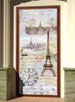 Наклейка на дверь - Старое письмо | магазин Интерьерные наклейки