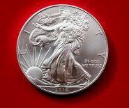 1 доллар Шагающая свобода (Ag999 серебро), 2014г. Идеальное состояние