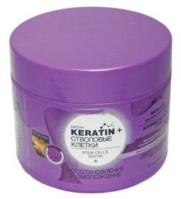 """Витекс Keratin+ Стволовые клетки Бальзам """"Антивозрастной уход"""" 300мл"""