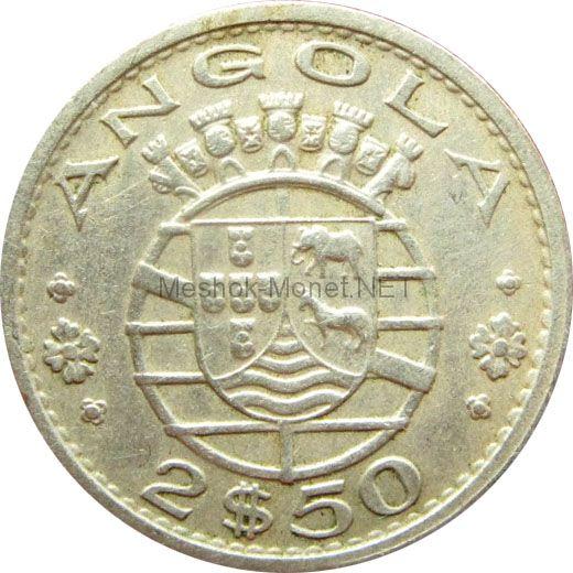 Ангола 2,5 эскудо 1969 г.