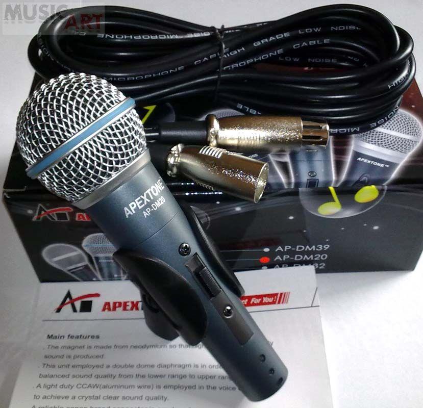APEXTONE DM-20 Микрофон динамический
