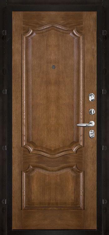 Шпонированная панель с багетом дуб Премьера