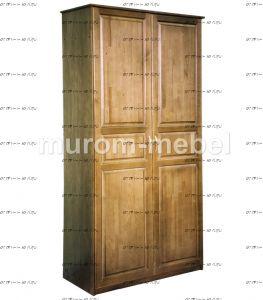 Шкаф 2-дверный №3 (сосна) 90х45х210