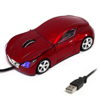 Мышь для ПК в виде гоночного авто