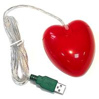 Мышь для ПК в виде сердца