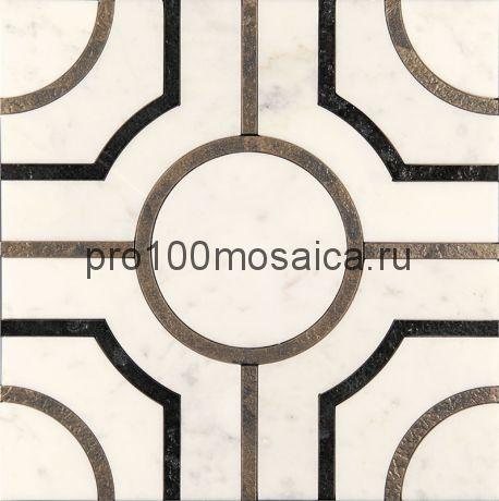 AСM (w)-2/6 Плитка 305*305 серия ALСAMO (white), размер, мм: 305*305*10 (Skalini)