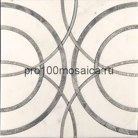 AСM (w)-3/2 Плитка 305*305 серия ALСAMO (white), размер, мм: 305*305*10 (Skalini)