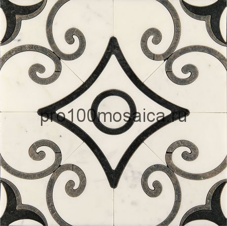 AСM (w)-4/6 Плитка 305*305 серия ALСAMO (white), размер, мм: 305*305*10 (Skalini)