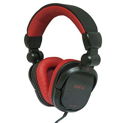 Мониторные наушники Dialog HP-A35 BLACK-RED (2.5 метра витой)