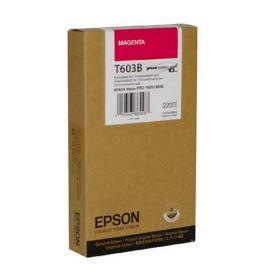 C13T603B00 Картридж  оригинальный EPSON Stylus Pro 7800/9800 (220 ml) пурпурный