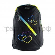 Рюкзак Kite Beauty 954 Сердца черный K16-954XLBCD-Kite