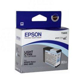 Картридж оригинальный EPSON T5805 светло-голубой для Stylus Pro 3800 C13T580500