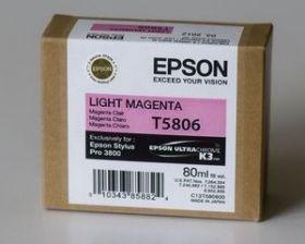 Картридж оригинальный EPSON T5806 светло-пурпурный для Stylus Pro 3800 C13T580600