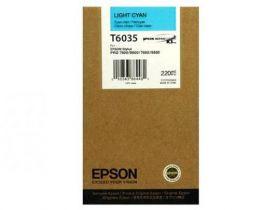 Картридж оригинальный EPSON T6032 голубой для Stylus Pro 7880/9880 C13T603200