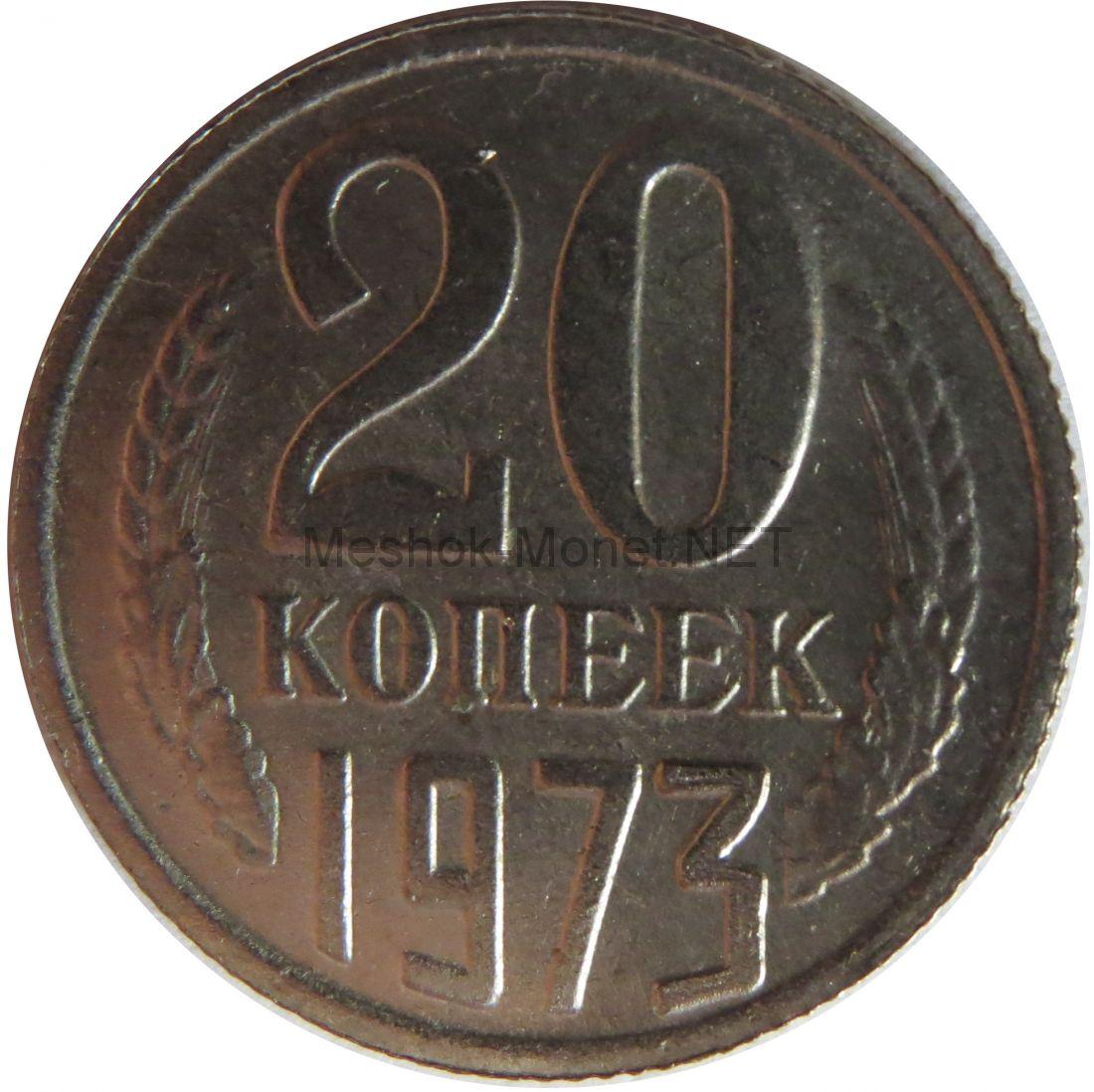 Копия монеты 20 копеек 1973 года
