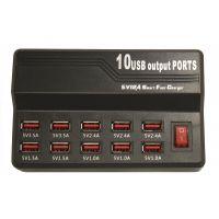 Зарядное устройство на 10 USB портов (5V-12A)