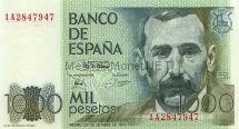 Банкнота Испания 1 000 песет 1979 г