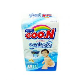 Подгузники Goon L (9-14 кг), 54 шт/уп