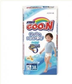 Трусики Goon Big (12-20 кг), 38 шт/уп для мальчиков