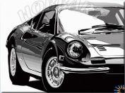 Картина по номерам "Машина мечты"