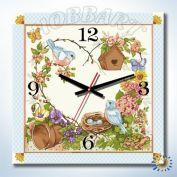 """Часы - картина по номерам """"Дачное время"""""""