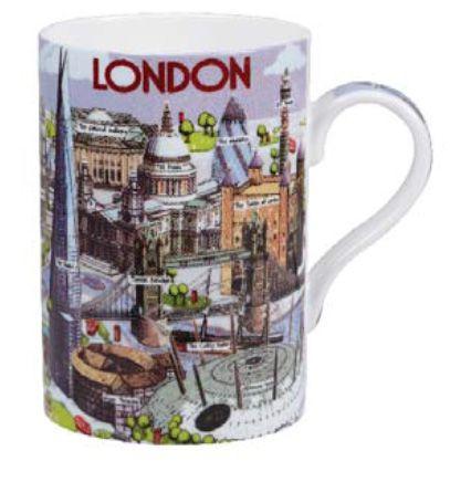 """Кружка """"Лондон"""", форма Sedar, 350 мл"""