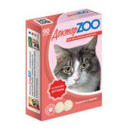 Доктор ZOO Ветчина Мультивитаминное лакомство для кошек (90 табл.)