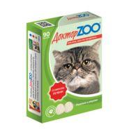 Доктор ZOO Печень Мультивитаминное лакомство для кошек (90 табл.)