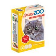 Доктор ZOO Сыр Мультивитаминное лакомство для кошек (90 табл.)