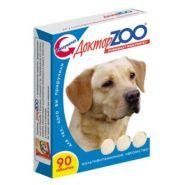 Доктор ZOO Здоровая собака Витаминное лакомство для собак с морскими водорослями (90 табл.)