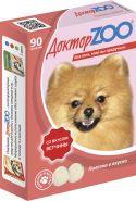 Доктор ZOO Ветчина Витаминное лакомство для собак (90 табл.)