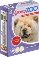 Доктор ZOO Лосось Витаминное лакомство для собак (90 табл.)