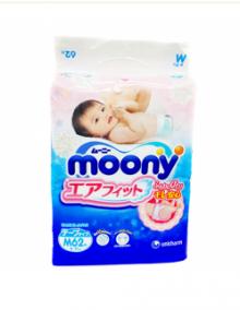 Подгузники Moony М (6-11кг), 62 шт/уп
