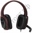 Гарнитура (науш.+микр.) DEFENDER Warhead G-250 коричневый, кабель 2,5 м игровая