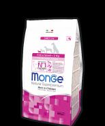 Monge Dog Daily Line Extra Small Puppy&Junior Корм для щенков миниатюрных пород (800 г)
