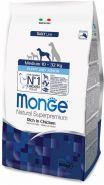 Monge Dog Daily Line Medium Puppy&Junior Корм для щенков средних пород (800 г)