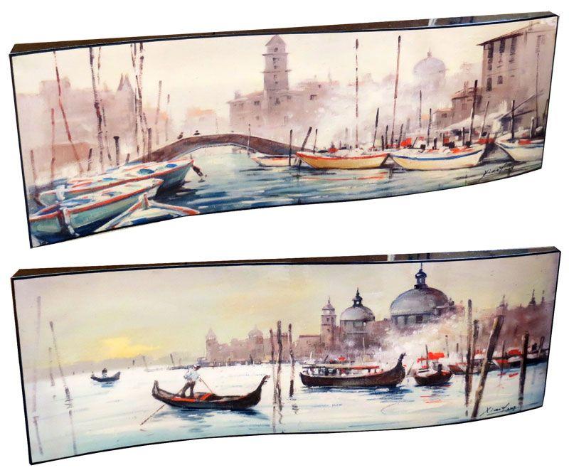 """Картина """"Венеция"""" (пара), 29х87 см"""