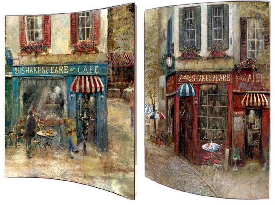 """Картина """"Старый Лондон"""" (пара), 41х51 см"""