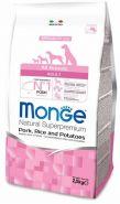 Monge Dog Speciality Line All Breeds Adult Pork, Rice & Potatoes Корм для собак всех пород со свининой, рисом и картофелем (2,5 кг)